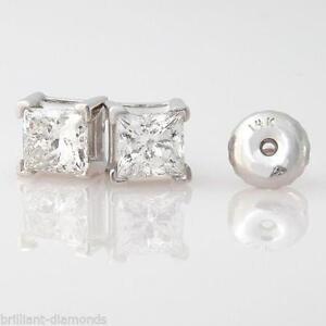 Man Made Diamond Earrings