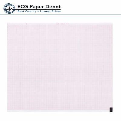 Nihon Kohden Ecg Machine Recording Z-fold Paper Pa8300z Ekg Chart 10 Pack New