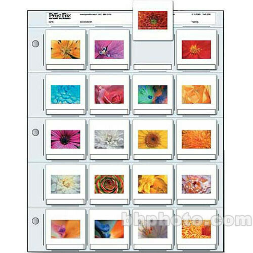 Print File 2X220B100 35mm Slide Pages 100 Sheets