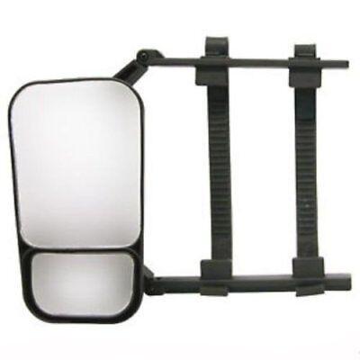 2x Caravanspiegel / Wohnwagenspiegel / Aufsteckspiegel univ. für PKW / Wohnwagen