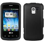 LG Optimus Slider Rubber Case
