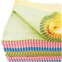 10pcs of Microfiber Cleaning Cloth for Glasses, Camera and Lens