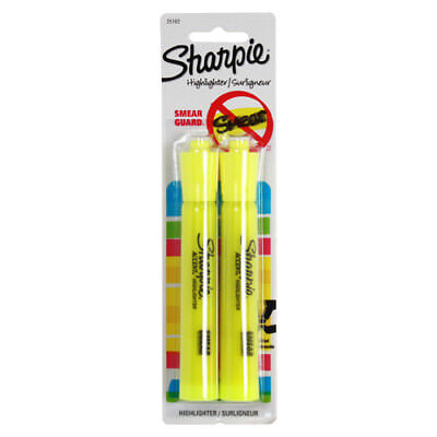 Sharpie Accent Highlighters Fluorescent Yellow - Pack Of 2