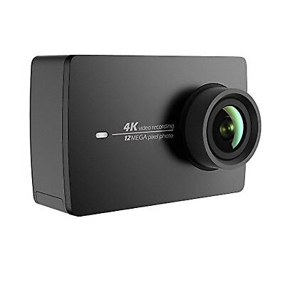 YI 4K Sports and Action Video Camera (US Edition) Night Black Camera Only