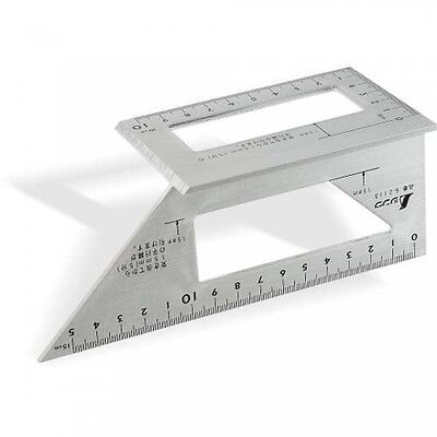 Shinwa 3D Mitre Square  45° / 90° Square For Mitres & Cross Cuts 169 x 63 x 73mm