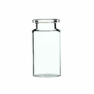 20mm Clear Glass Crimp Top Head Space Vials 10 Ml Capacity 300 Pieces Pack