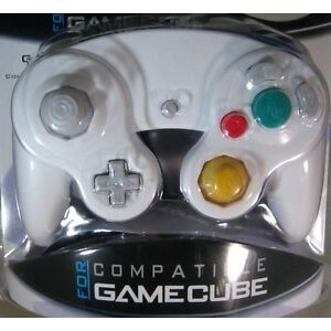Gamecube Controller WHITE Wired Joystick Pad NEW SEALED