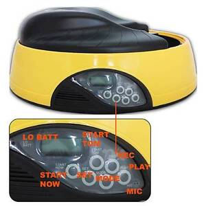 Dog/Cat pet digital feeder LED Display Auto RECORD YOUR MESSAGE Welshpool Canning Area Preview