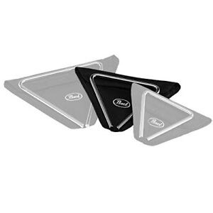 """Pearl Elite Triangle 8"""" Steel PET80 Rode 1/2"""" *comme neuf*"""