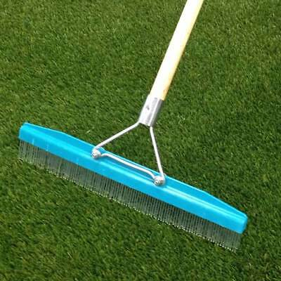 Grandi Groom Artificial Synthetic Turf Grass Infill Rake Carpet Groomer Brush