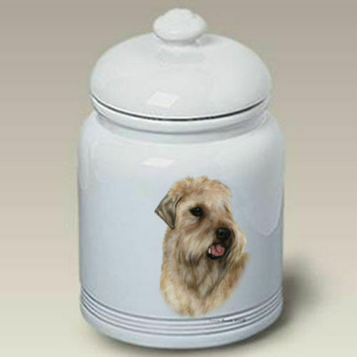Wheaten Terrier Ceramic Treat Jar TB 34056