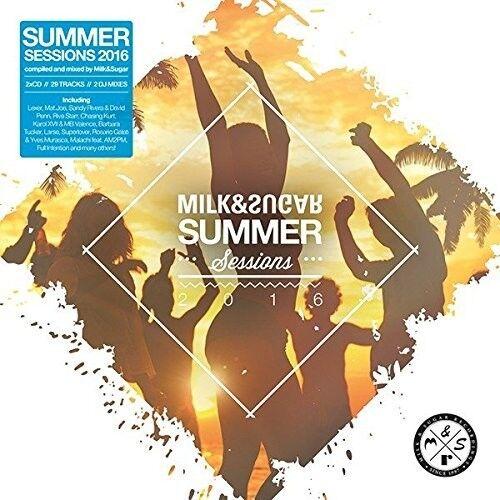 VARIOUS/MILK & SUGAR (MIXED BY) - SUMMER SESSIONS 2016  2 CD NEU