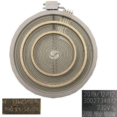 Resistencia Vitroceramica SAUBER SEV-01 30cms 3002734812, 7162145 SWAP/USADO