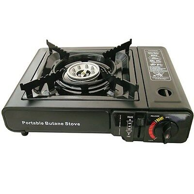 yellowstone portable camping gas cooker stove outdoor picnics barbecues bbq 695642001562 ebay