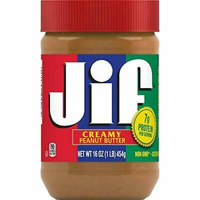 Jif Creamy Peanut Butter 16 Ounce Pack of 3