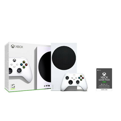 Xbox Series S 512GB SSD Console + Xbox Game Pass Ultimate 3 Month (Email)