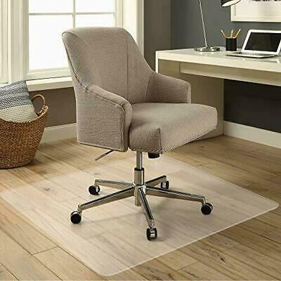 60x48 Floor Office Rolling Chair Clear Pvc Carpet Rug Protective Mat Pad New