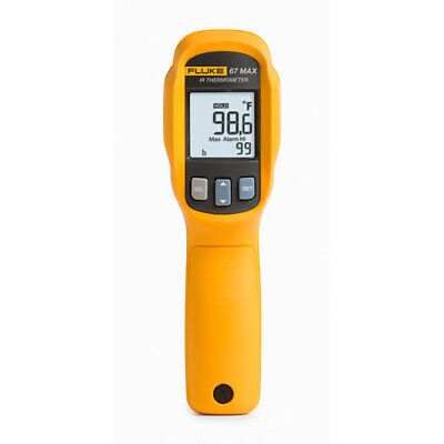 Fluke 67 Max Clinical Infrared Thermometer 71.6 F To 109 F 0.5 F