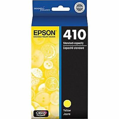 NEW Epson 410 Yellow  Ink Cartridge Genuine