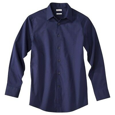 Merona® Men's Tailored Fit Stretch Dress Shirt – Assorted Colors