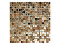 5x GOLDEN GATE MOSAIC SHEETS, GOLD, COPPER STONE MIX