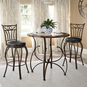 Jericho 3 piece Counter Height Dining Set