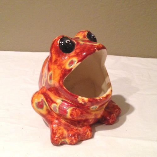 Ceramic Frog Sponge Holder