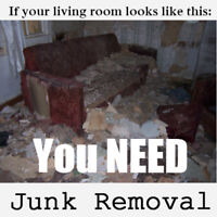 LOW rates on residential JUNK removal @ $95 load… Call today.