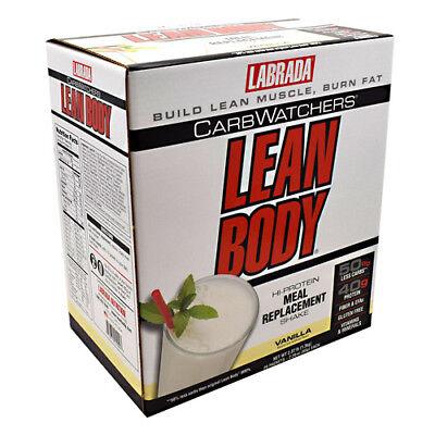 - Carb Watchers Lean Body Vanilla Ice Cream - 20-2.29 oz