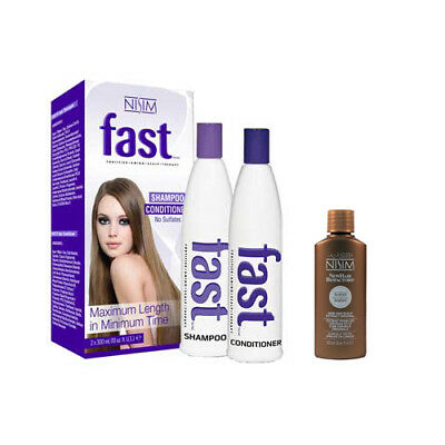 FAST Shampoo and Conditioner Treatment. Best for Hair Growth After