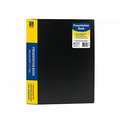 New C-line 24-pocket Bound Sheet Protector Presentation Book - 1 Each