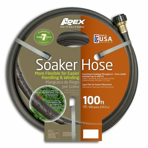 Apex, 1030-100, Soil Soaker Hose, 100-Feet