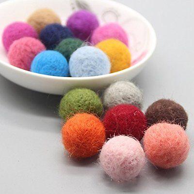 Wholesale Craft Felt - Wholesale supplies Nursery Craft Jewelry making beads Bright Color felt Balls