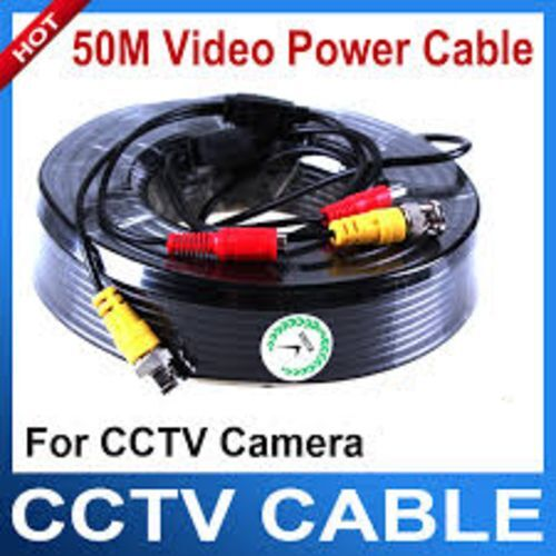 50M CCTV BNC CABLE - BRAND NEW -