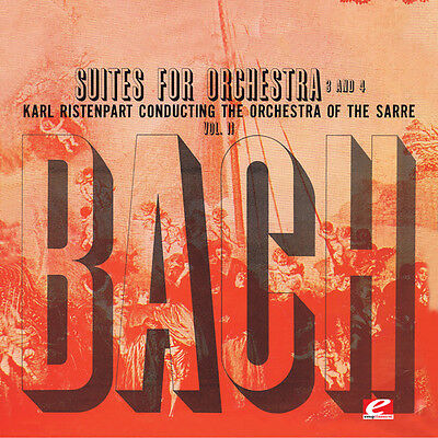 Bach / Ristenpart - Suite for Orchestra No 3 in D Major [New CD] Suite for