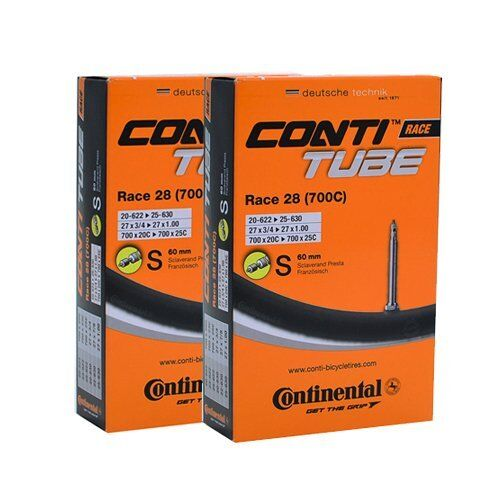 Continental Race 28 700 x 18-25c Tube Presta 60mm