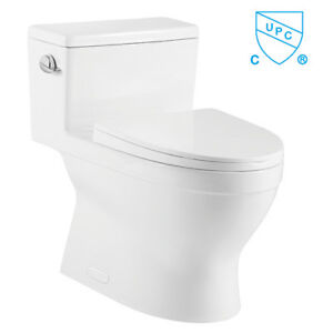 Crown Jewel Single Flush Skirted Toilet One Pc