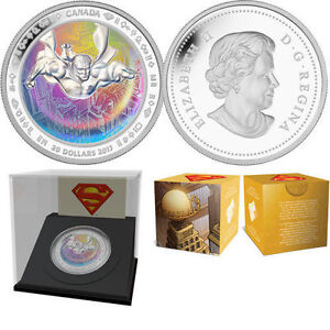 1 oz $20 Fine Silver Hologram Coin - Superman™ SOLD OUT AT MINT London Ontario image 1
