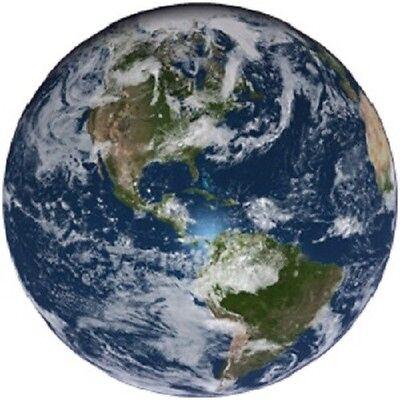 30 Custom Earth Personalized Address Labels