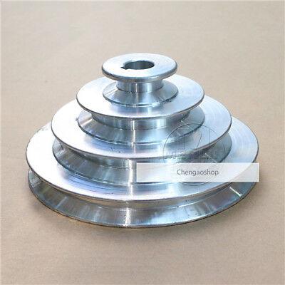 Od 130mm 4 Step Pulley 16mm Bore 12 12.7mm Belt Width - Cast Aluminum 1 Zx