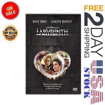 The Labyrinth DVD 1999 Jim Henson, David Bowie, Jennifer - Labyrinthe Halloween