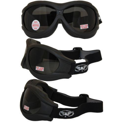 Motorcycle Goggles Over Glasses Ebay