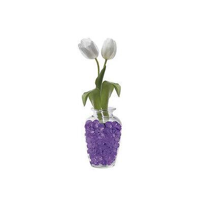 Purple gel beads, store water for flowers - vase