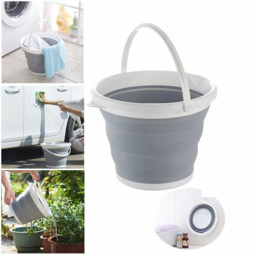 10 Liter Collapsible Silicone Bucket Pail A Convenient and Space Saving Solution