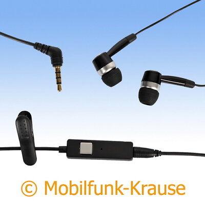 Headset Stereo In Ear Kopfhörer f. BlackBerry Curve 8310 - Blackberry Curve 8310 Headset