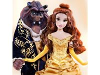 WANTED DISNEY LIMITED EDITION DOLLS BEAUTY AND THE BEAST BELLE RAPUNZEL ELSA ANNA ARIEL ETC
