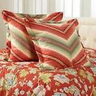 Rose Tree Euro Multi-Color Pillow Shams