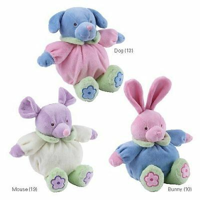Grriggles PUPPY BUDDIES PLUSH DOG TOY MOUSE PUPPY BUNNY Easter Pastel Holiday