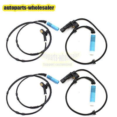 Loovey ABS Wheel Speed Sensor Front Rear Left Right Anti-Brake Syestem Fit For BMW E46 Z4 323i 318i OEM 34526752681