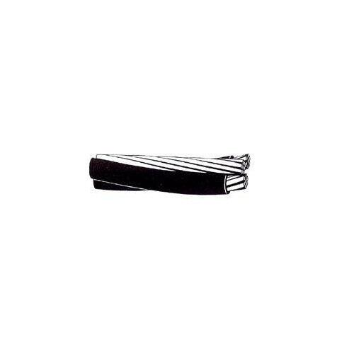 Per Foot 2-2-2 Conch Aluminum 7 Strands Triplex Overhead Service Drop Cable Wire